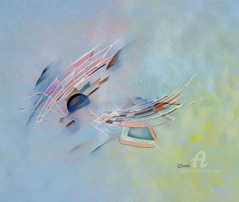 Corinne Sassi (Cjr sassi) - Dessin Art numérique Contemplations