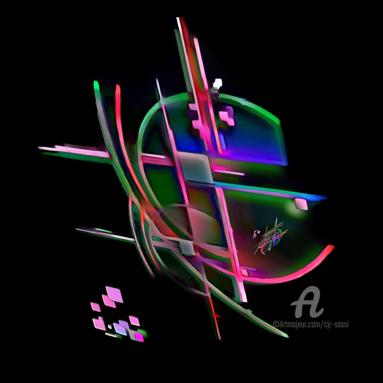 Corinne Sassi (Cjr sassi) - Abstrait en espace 30