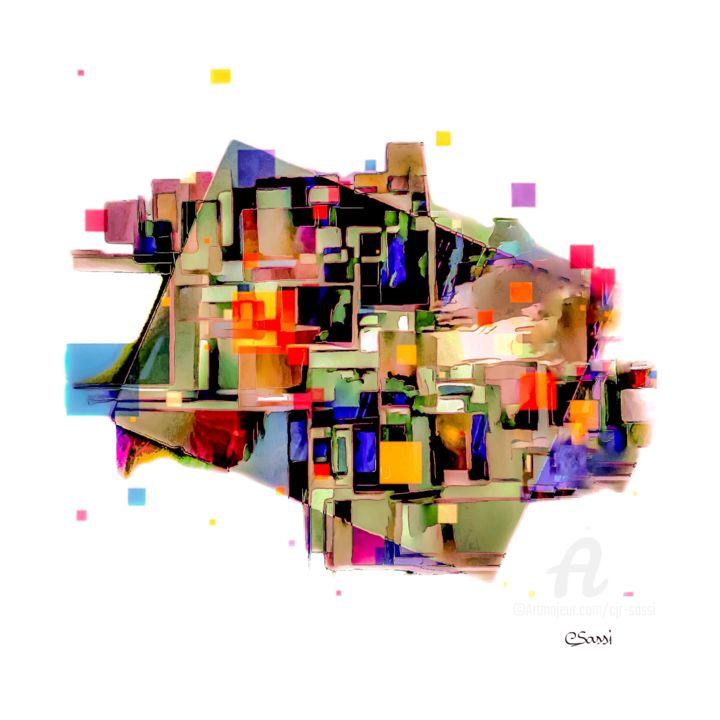 Abstrait en espace 7